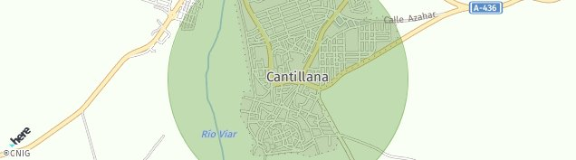 Mapa Cantillana