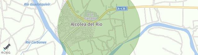 Mapa Alcolea del Río