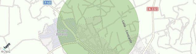 Mapa La Unión