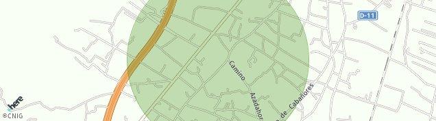 Mapa Torrecilla
