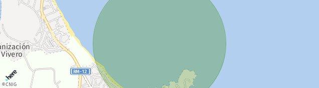 Mapa Cala Flores