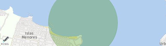Mapa Islas Menores