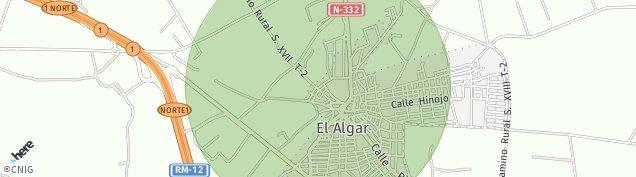 Mapa El Algar
