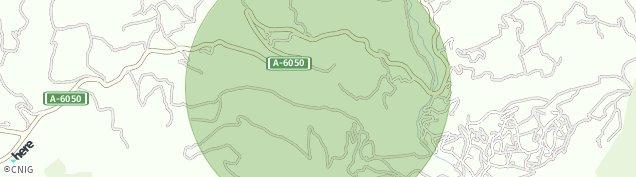 Mapa Los Villares