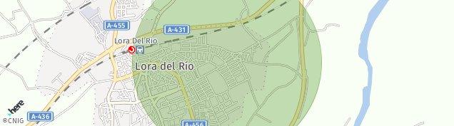 Mapa Lora del Río