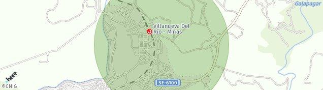 Mapa Villanueva del Río y Minas