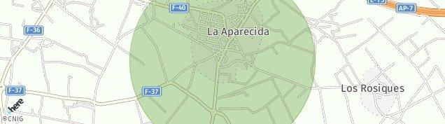 Mapa La Aparecida de Murcia