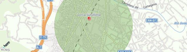 Mapa Lorca