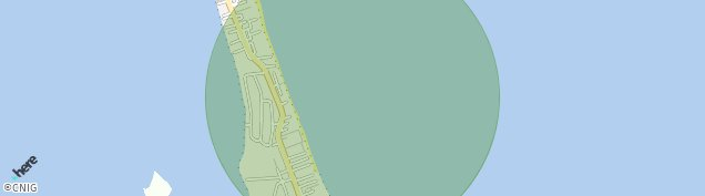 Mapa La Manga del Mar Menor