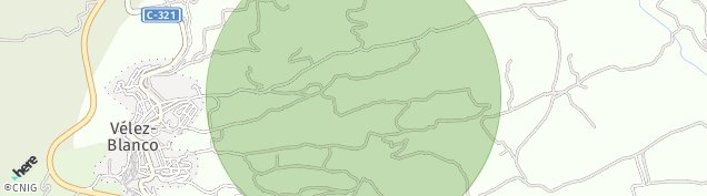 Mapa Velez-Blanco
