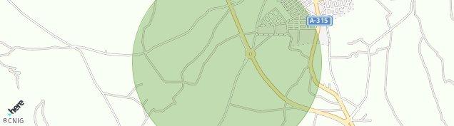 Mapa Pozo Alcón