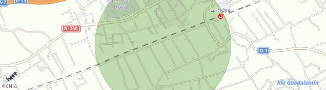 Mapa La Hoya