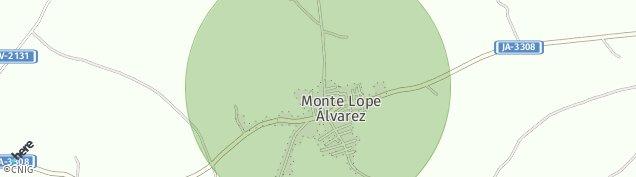Mapa Monte Lope Alvarez