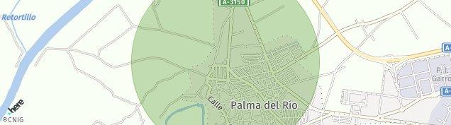 Mapa Palma del Río