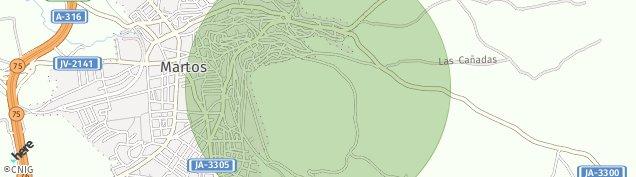 Mapa Martos