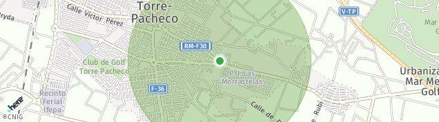 Mapa Hoya Morena