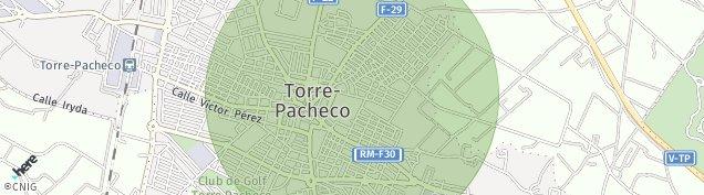 Mapa Torre-Pacheco