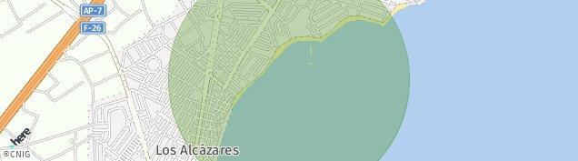 Mapa Los Alcázares