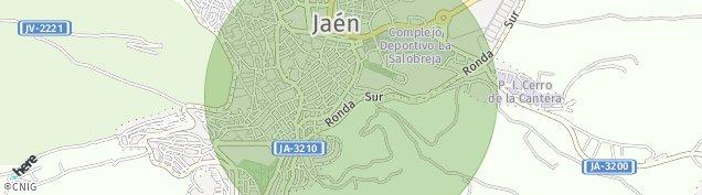 Mapa Jaén