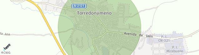 Mapa Torredonjimeno