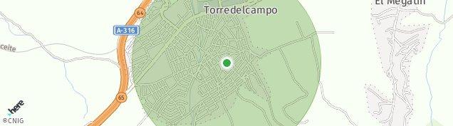 Mapa Torre del Campo
