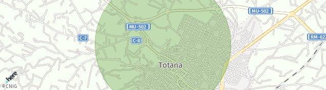 Mapa Totana