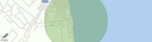 Mapa Santiago de La Ribera