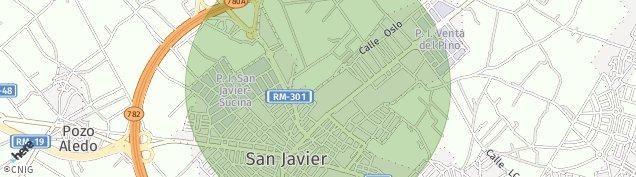 Mapa San Javier