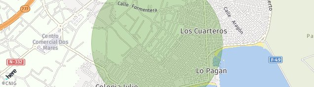 Mapa Los Cuarteros