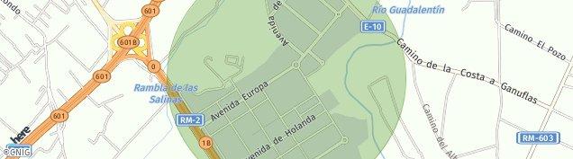 Mapa Los Ventorrillos