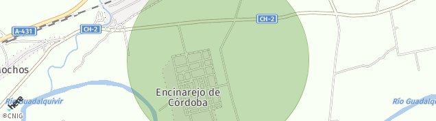 Mapa Nucleo Encinarejo de Cordoba
