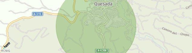Mapa Quesada