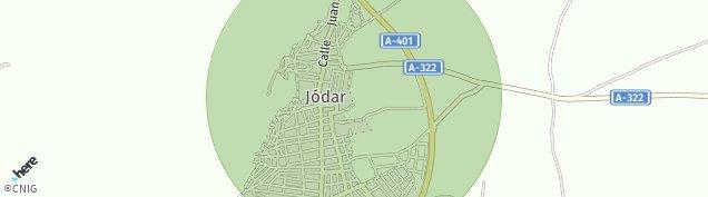 Mapa Jódar