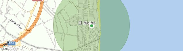Mapa El Mojon