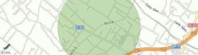 Mapa Loma de Abajo