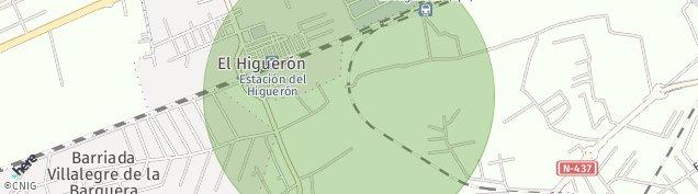 Mapa El Higueron