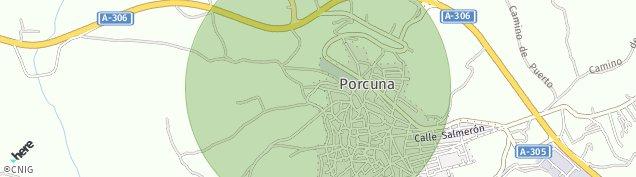 Mapa Porcuna