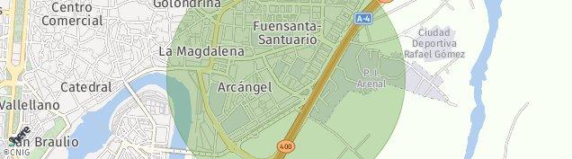 Mapa Córdoba