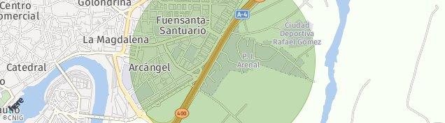 Mapa El Arenal