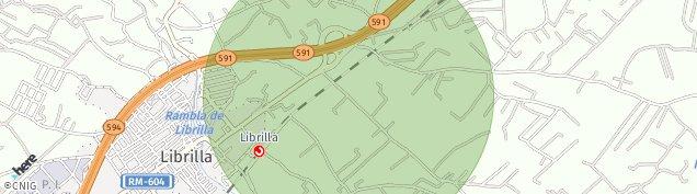 Mapa Librilla
