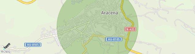 Mapa Aracena