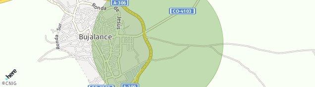 Mapa Bujalance