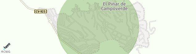 Mapa Pinar de Campoverde