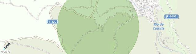 Mapa La Iruela
