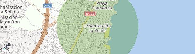 Mapa La Zenia