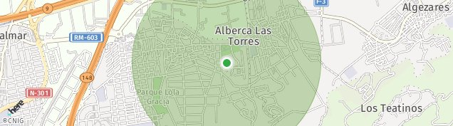Mapa La Alberca