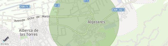 Mapa Algezares