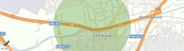Mapa El Palmar