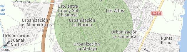 Mapa Punta Prima