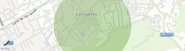 Mapa Los Garres